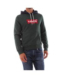 56808 0015 MODERN HOODIE Sweat-shirt Levi's pour homme en coloris Green