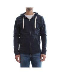Tommy Hilfiger Sweatshirt 2S87905806 ZIP THRU HOODY in Blue für Herren