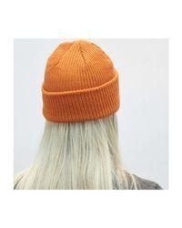 HOLT CUFF BEANIE Bonnet Vans pour homme en coloris Orange