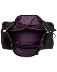 Smith & Canova Twin Strap - Holdall Men's Travel Bag In Black for men