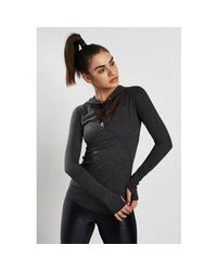 Alala Gray Flyweight Hoodie Charcoal - Xs Charcoal Women's Sweater In Multicolour