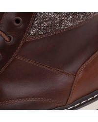 Firetrap Aubin Boots Men's Mid Boots In Brown for men