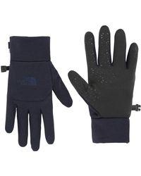 The North Face Gloves Etip Glove T0a7lnavm Urban Navy Women's Gloves In Blue