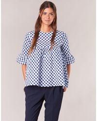 Moony Mood Hepo Women's Blouse In Blue