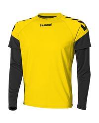 Maillot Manches longues Chevrons hommes T-shirt en Jaune Hummel pour homme en coloris Yellow