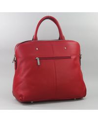 Magalie Sac Frederic T Sac Cuir en coloris Red