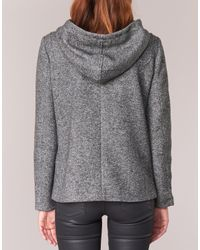 ONLY Gray Cecilia Women's Coat In Grey