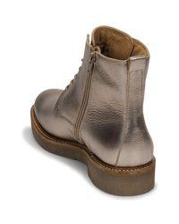 Boots Kickers en coloris Metallic