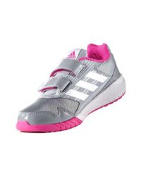 Adidas Gray Ba7917 Sport Shoes Kid Grey Women's Trainers In Grey