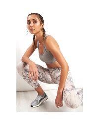 Reebok Multicolor Lux Bold Combat Tight Women's Tights In Multicolour