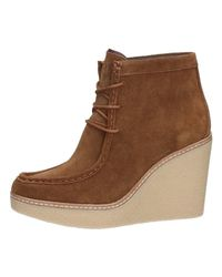 Tommy Hilfiger Fw0fw01790 Chukka Boots Women's Mid Boots In Brown