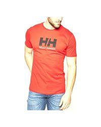 33979_222 T-shirt Helly Hansen pour homme en coloris Red