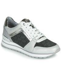 MICHAEL Michael Kors Lage Sneakers Billie Trainer in het White