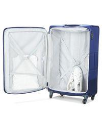 Samsonite Base Boost Spinner 75 Men's Soft Suitcase In Blue for men
