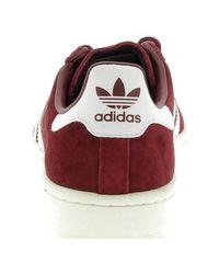 Originals Campus Bordeaux hommes Chaussures en rouge Adidas pour homme en coloris Red