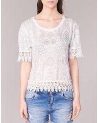 Desigual White Rominessa T Shirt
