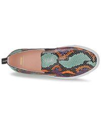 Boutique Moschino Multicolor Lucia Women's Slip-ons (shoes) In Multicolour