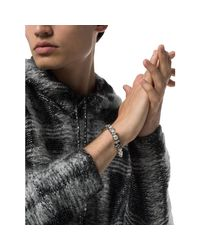 Bracelets BRACELET HOMME Alexander McQueen pour homme en coloris Metallic