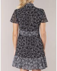 MICHAEL Michael Kors Korte Jurk Star Mix Dress in het Black
