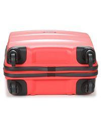 American Tourister Bon Air 55cm 4r Women's Hard Suitcase In Pink