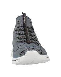 Skechers - Gray 12656s Women's Shoes (trainers) In Grey - Lyst