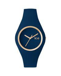 Montre en Silicone Bleu Femme femmes Montre en multicolor Ice-watch en coloris Blue