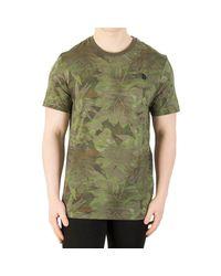 Homme T-shirt simple de dôme, Vert hommes T-shirt en vert The North Face pour homme en coloris Green