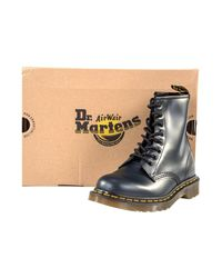 Dr. Martens | Blue Navy Smooth Women's Mid Boots In Multicolour | Lyst