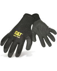 CAT 17400 Latex Palm hommes Gants en Noir Caterpillar pour homme en coloris Black