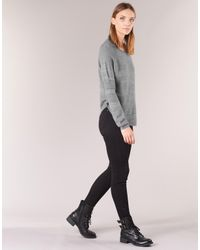ONLY Gray Caviar Women's Sweater In Grey