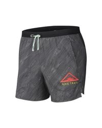 Nike Gray M Nk Flx Stride Short 5 Trail Shorts for men