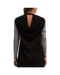 Madam Rage Black Knitted Tunic Blouse