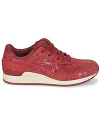 Asics Red Gel-lyte Iii Shoes (trainers) for men