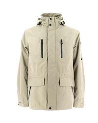 Geox Natural M5221b T1836 Jacket Man Mid Sand Men's Jacket In Beige for men