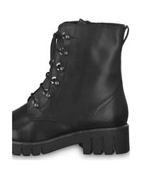 25213 001 Boots Tamaris en coloris Black