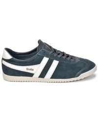 Gola Gray Bullet Suede Men's Shoes (trainers) In Grey for men