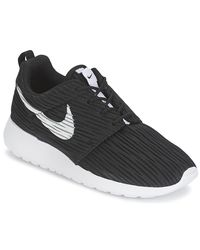 Nike - Roshe One Eng W Women's Shoes (trainers) In Black - Lyst