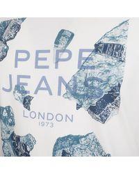 - hommes T-shirt en blanc Pepe Jeans pour homme en coloris White