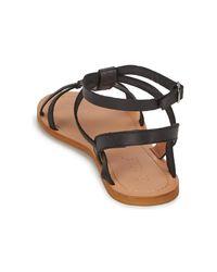 So Size - Bealo Women's Sandals In Black - Lyst