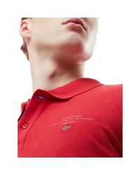 N0YIJ5 ELBAS 2 hommes Polo en rouge Napapijri pour homme en coloris Red