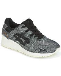 Asics Gray Gel-lyte Iii Women's Shoes (trainers) In Grey