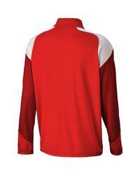 PUMA Trainingsjack Esito 4 1/4 Zip in het Red voor heren