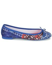 Desigual Blue Missia Denim Patch Shoes (pumps / Ballerinas)