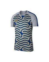 Nike Gray Dry Academy T Shirt for men