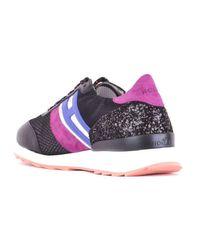 BASKETS FEMME Chaussures Hogan en coloris Black