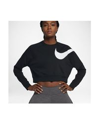 Nike - Black Dry Versa 862754 Women's Sweatshirt In Multicolour - Lyst