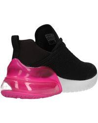 Sparkling wind nero/fuxia 13276 BKHP Chaussures Skechers en coloris Black