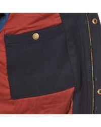 Kulte - Blue Veste Carrie 101849 Anth Jacket for Men - Lyst