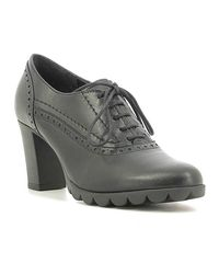 The Flexx - A701/19 Lace-up Heels Women Women's Smart / Formal Shoes In Black - Lyst