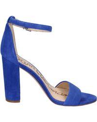 Sandales sandales daim Sam Edelman en coloris Blue